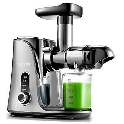£90.56 • Buy Juicer Machines, Slow Masticating Juicer Extractor, Cold Press Juicer With Gray