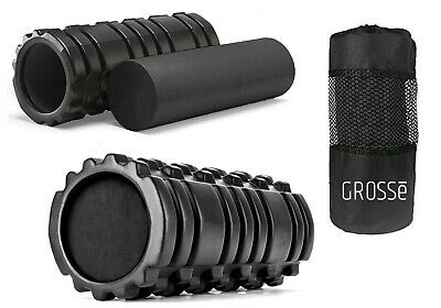 AU20.75 • Buy Foam Fitness Roller For Deep Tissue Massage Grid Muscle Trigger Point Muscles UK