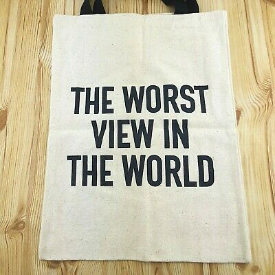 £49.95 • Buy Authentic BANKSY Walled Off Hotel Tote Bag Original  (Gross Domestic Product)