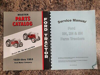 $ CDN37.16 • Buy Ford Tractor Service And Parts Manuals 9N, 2N, 8N,