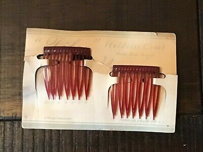 £7.18 • Buy Vintage Tilco Art Deco Hair Comb Holdette Comb New On Card