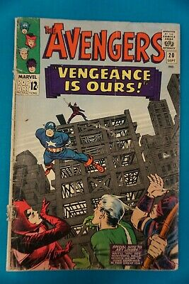 £7.09 • Buy Marvel Comics The Avengers #20 9/65 - Vintage (46) Silver Age