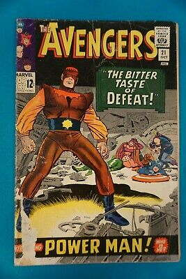 £7.09 • Buy Marvel Comics The Avengers #21 10/65 - Vintage (47) Silver Age