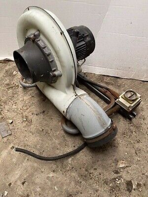 """£325 • Buy 6"""" Nederman 110-240v Extraction Extractor Fan Electric Blower Exhaust Fume IP54"""