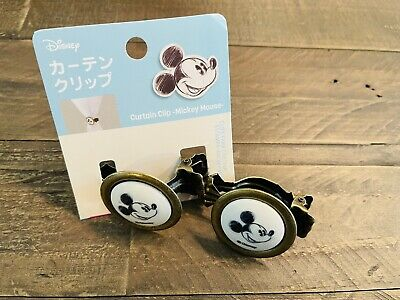 £12.77 • Buy Disney Mickey Mouse Home Decor Curtain Clips Set Of 2