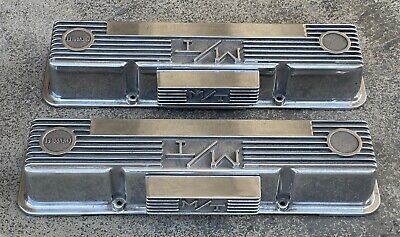 $595.95 • Buy Vintage Chevy M/t Mickey Thompson Aluminum Valve Covers With M/t Mickey Thompson