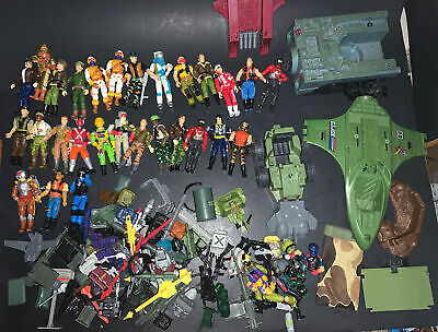 $ CDN172.87 • Buy Huge Vintage  Gi Joe Action Figure Collection Lot 1980s Toys, Weapons, Vehicles