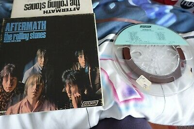 £85 • Buy Rolling Stones Aftermath, Reel To Reel 4 Track Tape 3¾ IPS Stereo 1966