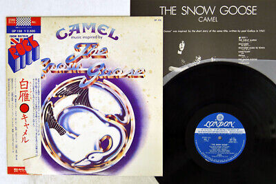 £2.83 • Buy CAMEL SNOW GOOSE LONDON GP-156 Japan OBI VINYL LP
