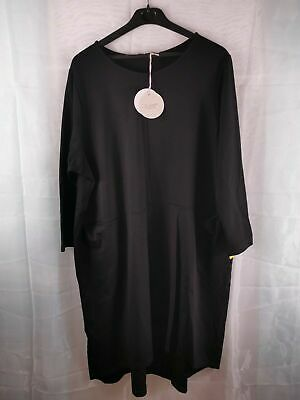 £16 • Buy ZELANTE Italian Made, Calf-Length Black Dress - Size 22-24 ( 2X ) NEW With TAGS