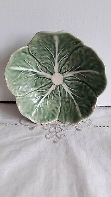 £32 • Buy Vintage Bordallo Pinheiro CABBAGE LEAF BOWL