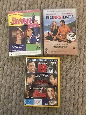 AU15 • Buy 5 Adam Sandler Movies On 3 DVDs
