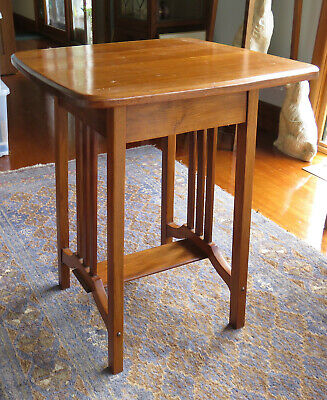 AU200 • Buy Antique Side Occasional Mahogany? Table Arts And Crafts Stylish Ex Cond