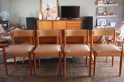 AU89 • Buy Eames Era Mid-Century Dining Chairs X 4