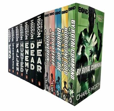 £29.99 • Buy Charlie Higson The Enemy And Young Bond Series 12 Books Collection Set