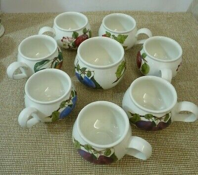 £10 • Buy Portmeirion Pomona - Sugar Bowl And 7 Cups | Thames Hospice