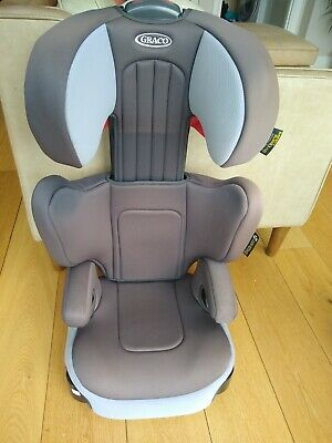 £9.99 • Buy Graco Assure High Back Booster Group 2/3 Car Seat, Grey, 15-36kg, Used