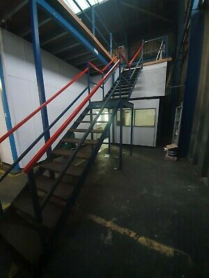 £950 • Buy Mezzanine Steel Stairs Or Fire Escape Staircase