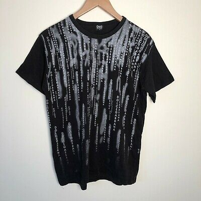 £44.99 • Buy Vintage Dolce & Gabbana D&G 90's Black Tee T-shirt Size Small S