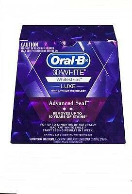 AU29.95 • Buy Oral-B 3D Advance Seal Teeth Whitening Strips - 14 Count