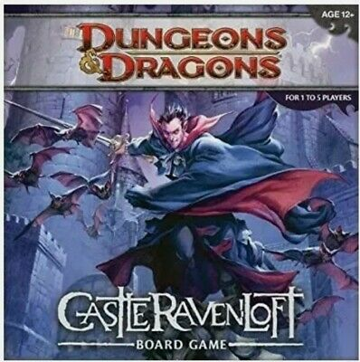 AU66.80 • Buy Dungeons And Dragons Castle Ravenloft Board Game