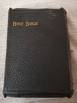 £28.50 • Buy The Holy Bible Old/New Testaments & Maps Eyre And Spottiswoode Ruby 24mo Refs