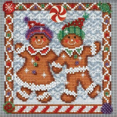 $12.99 • Buy Mill Hill 2014 Buttons & Beads Winter Series Cross Stitch Kit ~ Ginger Friends ~