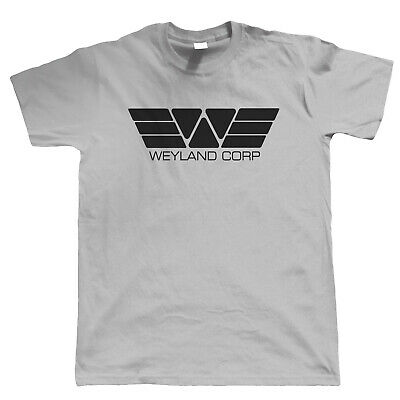Weyland Corp T Shirt, Movie Inspired UFO Aliens Sci-Fi Gift For Him Dad • 11.98£