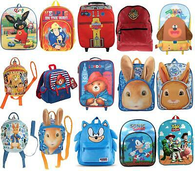 £14.99 • Buy Kids Backpacks TV Show/Movie Character Childrens Bags For School Or Travel