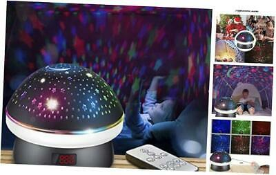 AU46.88 • Buy Toys For 3 4 5-10 Year Old Girls, Star Night Light Projector For Kids, Black