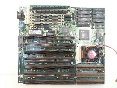 AU114.57 • Buy Retro PC Biostar MB-1433/50UIV-A Ver 5  Motherboard DX2 486 80 MHz 12MB Socket 3