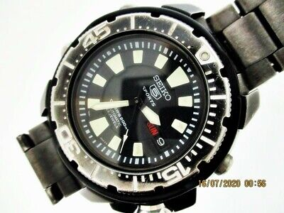 $ CDN239.57 • Buy Seiko 97' 7s36 02s0 Franken Monster Day Date Mens 790675 Eu Ship Serviced Watch