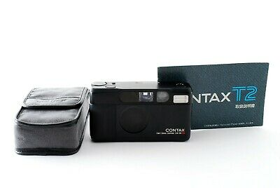 $ CDN2050.21 • Buy [NEAR MINT Limited BLACK!] Contax T2 Point & Shoot 35mm Film Camera Japan 760952