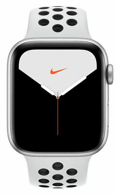 $ CDN423.28 • Buy Apple Watch Series 5 Nike 44mm Silver Aluminum Case With Pure Platinum/Black...