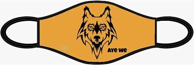 £2 • Buy Reusable Adults Virus Face Mask Washable  Cover Full Face Wolves Wolverhampton