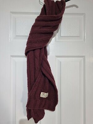 £2.99 • Buy Hollister Scarf Cable Knit