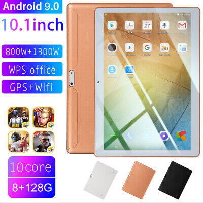 AU99.78 • Buy 10.1  Tablet PC Android 9.0 HD 8+128GB Top 10-Core WIFI Dual SIM Camera Phablet