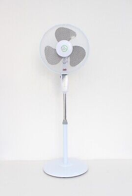 £29.95 • Buy 16  Electric Oscillating Pedestal Air Cooling Fan With Remote Control Standing