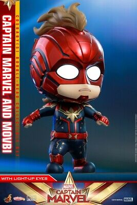 $ CDN64.28 • Buy Hot Toys Captain Marvel COSBABY Mini Collections Set COSB546 Movbi Figure ToyS
