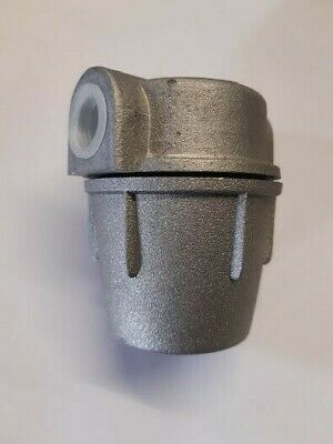 £9.99 • Buy Aluminium Bowl Oil Filter 3/8  FxF For Oil Heating Tanks And Systems