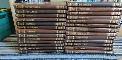 £26 • Buy Time Life Books 1977 - The Old West - Full Set Of 26 Hardbacks - GREAT CONDITION