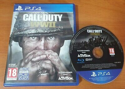 £10 • Buy PS4 Call Of Duty WWII Sony Playstation 4
