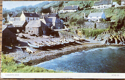 £1.49 • Buy 1960s Real Photo Postcard Cadgwith Cove Penzance Postmark