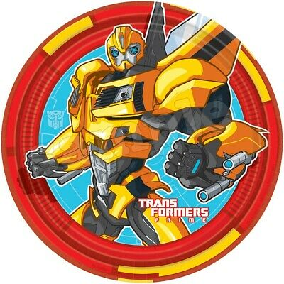 £6.49 • Buy Transformers Edible Cake Topper Paper Birthday Party Deco New Cupcake Bumblebee