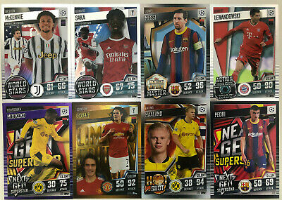 £2.50 • Buy Topps Match Attax 101 2020-2021 2020/21 Shiny Limited Choose Your Cards 122-224