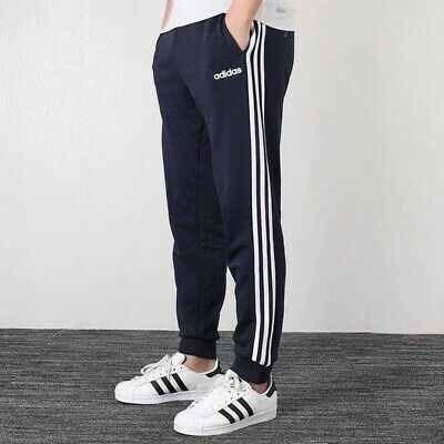 $ CDN41.28 • Buy Adidas Essential Athletic Men's Blue Soccer Pants Fitted Casual Slim Fit Joggers