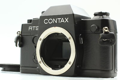 $ CDN399.27 • Buy [MINT] Contax RTS II Quartz Data Back 35mm SLR Film Camera Black Body From JAPAN