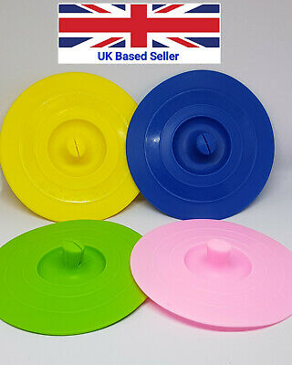 £2.95 • Buy Pack Of 2; Silicone Cup Lids;  Anti-dust Airtight Seal Mug Cover UK Seller