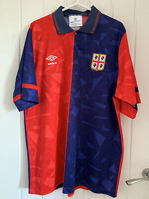 £110 • Buy Cagliari 1990-92 Home Shirt Large Excellent
