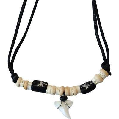 £3.49 • Buy Shark Tooth Necklace Pendant Chain Mens Womens Boys Girls Childrens Jewellery